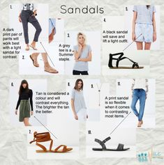 What colour to look for in sandals (and why shoe stores hate me Autumn Outfits Curvy, Summer Outfits Women 30s, Summer Fashion For Teens, Fall Outfits For Work, Summer Fashion Outfits, Casual Fall Outfits, Fall Fashion Trends, Fashion Pants, Fashion Bloggers