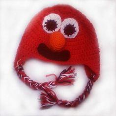 children beanie  Elmo inspired beanie and by HandCraftedByGailZ, $32.00
