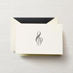 Hand Engraved Treble Clef Note