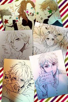 Hirunaka no Ryuusei cards