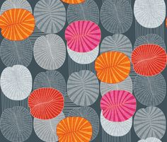 Dickinsonia Rex fabric by spellstone on Spoonflower
