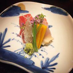 So full #kaiseki #sashimi by frondlet