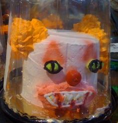 This failure of a cake looks like a demented clown with bloody fangs. Some cakes on Pinterest are wonderful while these atrocities are also shared freely Sometimes called 'cake wrecks' these disasters are a constant shock and surprise. I have set up a board just for these crimes against pastry. If you want to see more ( and why would you? ) please check out my LET THEM EAT BAD CAKES board. Don't blame me if they keep you up all night ~ I hope you enjoy this board. Go forth and pin freely…
