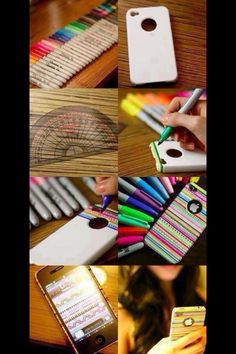 10 best iphone case images on pinterest i phone cases iphone do it yourself design your own iphone case or ipod case with colored sharpies any way u want it solutioingenieria Images