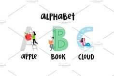 Alphabet by Stolenpencil on @creativemarket