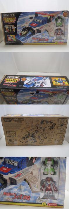 Rescue Heroes 50307: Fisher Price Rescue Heroes Robotz Hyperjet Exclusive Bonus C.D. Moon Figure New -> BUY IT NOW ONLY: $250 on eBay!