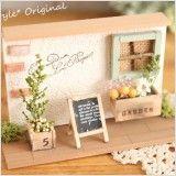 【作家さん×Acorn-Styleコラボ*】ミニチュア雑貨ブリキGarden:オシャレかわいい雑貨のお店 Acorn-Style* Dollhouse Ideas, Wood Art, Diy And Crafts, Creative, Frame, Home Decor, Miniatures, Little Cottages, Gardens