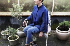 Wonderful jacket from the danish fashion brand Mind of Line. http://www.mindofline.com/shop/mind-of-line-bla-bomulds-jakke.html