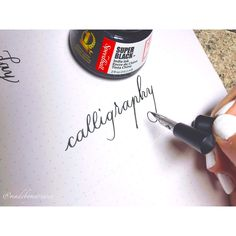 Pointed pen fun!