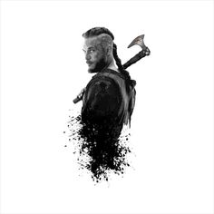 Vikings Ragnar Warrior King Men s T-Shirt by Artizan - Cloud City 7 Ragnar Lothbrok Vikings, Lagertha, Viking Wallpaper, King Ragnar, Viking Beard, Warrior King, Cloud City, Kings Man, Travis Fimmel