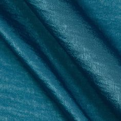 Soft Crush Crepe De Chine Royal Teal from @fabricdotcom  This luxurious polyester fabric features a fluid drape, low luster satin face and a subtle crushed texture. It is perfect for flowing dresses, gathered skirts, blouses and scarves.