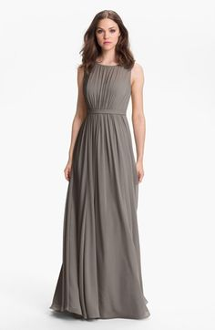 9523ee362138 Jenny Yoo  Vivienne  Pleated Chiffon Gown available at  Nordstrom  Prinzessin, Abiball Kleider