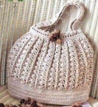 6 Patrones de Bolsos Tejidos al Crochet