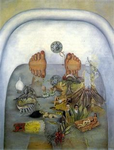 Frida Kahlo, What the water gave me, 1938