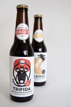 Actualité / Birrificio, une bière intergalactique / étapes: design & culture visuelle