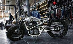 """The """"Black Mamba"""" aka """"Kill Bill"""" by Zadig Motorcycles"""