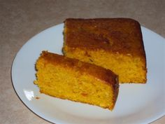 Sweet, moist and delicious - you can't taste the pumpkin but it gives great texture and is good for you.
