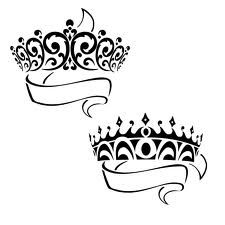 Tiara with crown