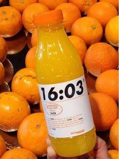 Testée dans les magasins d'Issy les Moulineaux, cette nouvelle marque de jus d'orange qui plutôt que d'afficher un nom de marque, affiche sa date de pressage, une garantie de frâicheur et un excellent moyen de se différencier et de créer de l'achat d'impulsion....
