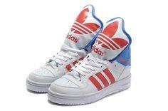 Buy Adidas X Jeremy Scott Big Tongue Shoes White Red
