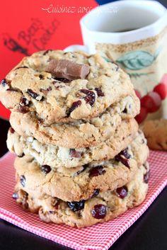 Recette cookies anglais ben's cookies