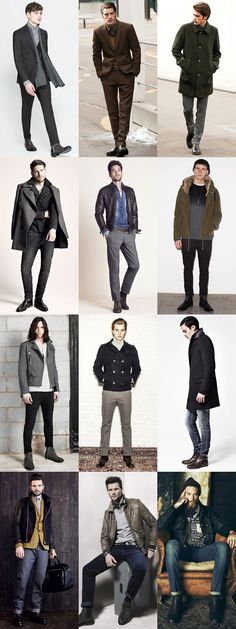 Men's Chelsea Boots Lookbook Outfit Inspiration