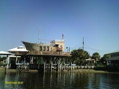 Boat house near Cedar Key, FL