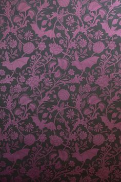 Elysian Fields Wallpaper | Designed by Dan Funderburgh