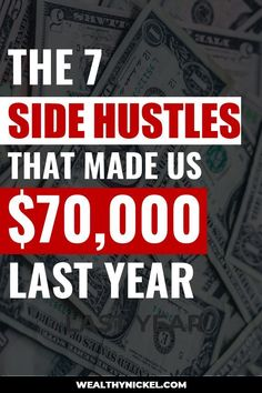 Here is our family's annual side hustle income report. See all the ways we make money online and through real estate investing. Learn how we work from home and earn extra income with these 7 side hustles and passive income streams. Earn Money Fast, Ways To Earn Money, Earn Money From Home, Earn Money Online, How To Make Money, Earn Extra Income, Extra Money, Unique Business Ideas, Passive Income Streams