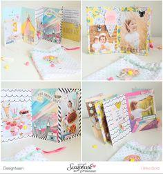Mini im Beutel - Maggie Holmes/Crate Paper Carousel - Ulrike Dold Paper Paper, Paper Crafts, Heidi Swapp, Crate Paper, Happy Mail, Snail Mail, American Crafts, Mail Art, Mini Books