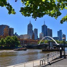 Yarra River in Melbourne.
