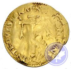 Italie Ferrara nd scudo Ercole II d'este conservation: tb