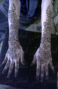 Natural henna wedding