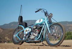 1946 Harley-Davidson Knucklehead | The Frost Lord | Hot Bike