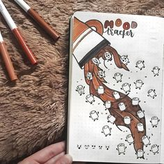 10 Creative Fall Mood Trackers Discover these 10 Creative Fall Mood Tr. - 10 Creative Fall Mood Trackers Discover these 10 Creative Fall Mood Trackers that are per - Bullet Journal Tracker, Bullet Journal Writing, Bullet Journal Aesthetic, Bullet Journal Ideas Pages, Bullet Journal Spread, Art Journal Pages, Bullet Journal Inspiration, Art Journal Prompts, Art Journal Techniques