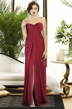 A stunning 1920's inspired gown - such a pretty color!