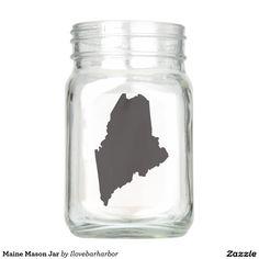 Maine Mason Jar