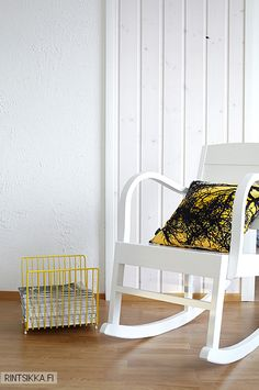 . Decor, Furniture, Chair, Home Decor, Rocking Chair, Yellow