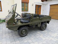 Autoquariat Steyr, Good Drive, Expedition Vehicle, Mini Trucks, Four Wheel Drive, Old Cars, Car Accessories, Cool Toys, Cars And Motorcycles