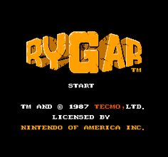 Rygar is a classic game for many home consoles. Vaporwave, 1980s Font, Video Game Music, Photoshop, Game Logo, Text Effects, Entertainment System, 8 Bit, Soundtrack