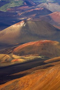 Haleakala Crater, Maui, Hawaii    One of the most amazing places I've ever been................