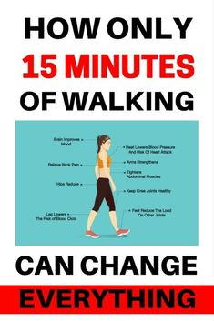 How Only 15 Minutes of Walking Can Change Everything