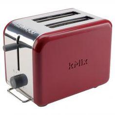 Kenwood kMix 2-Slice Red Toaster | Red Kitchenware | ColourPuff.com