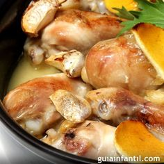 Pollo al ajillo. Receta de la abuela - Condition Tutorial and Ideas Easy Cooking, Cooking Recipes, Healthy Recipes, Cooking Games, Cooking Light, Cooking Fresh Green Beans, Cooking Brussel Sprouts, Cooking Pork Chops, How To Cook Asparagus