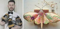 Mister Finch | Textilný umelec, ktorý žije v rozprávkovom svete