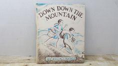Down Down the Mountain, 1961, Ellis Credle, vintage kids book by RandomGoodsBookRoom on Etsy