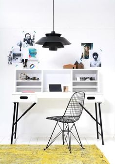 Scandinavian Desk by HK Living / Product available on e-HomeLovers.pl
