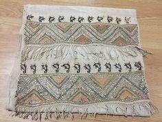 ottoman embroidery towel geometric motif*****