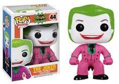From the hit wacky 1966 Batman TV Series! This Batman 1966 TV Series The Joker Pop! Vinyl Figure features one of Batman's most maniacal nemeses, The Joker (as p