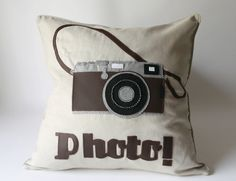 Photo Camera Cushion - $82.00